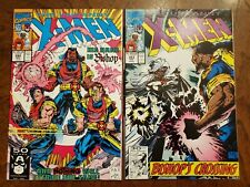 New listing Uncanny X-men 282 and 283 1st Cameo and Full Appearance of Bishop