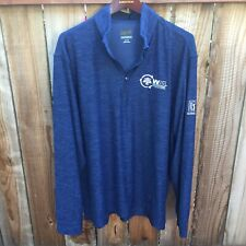 Greg Norman Waste Management Phoenix Open Men's L/S Shirt XL Blue TPC Scottsdale