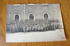 FOTOGRAFIA ESERCITO UFFICIALI VERONA 8 febbraio 1925 FIRME al retro SUBALPINA