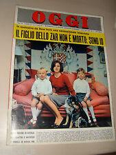 OGGI=1964/43=MARIA PIA DI SAVOIA=PIERPAOLO PASOLINI=MIGUEL MONTUORI=IL BERTOLDO