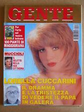 GENTE n°14 1993 Lorella Cuccarini Magic Johnson Zeudi Araya [G584]