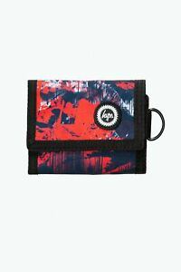 HYPE RED ABSTRACT WALLET