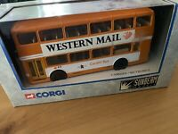 CORGI 91843-1/36 MCW  METROBUS --''CARDIFF BUS''--MINT IN BOX
