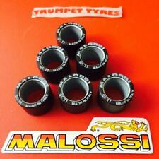 GILERA VXR 200 2006 ON 20.09 x 17 x 11gr Gram Malossi Roller Weights Rollers Set