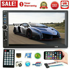 7 Inch 1080P DOUBLE 2DIN Car MP5 Player Touch Screen Stereo Radio BT Car MP3lMP5