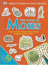 The Story of Moses - Sticker Activity Book