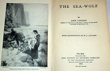 1913 Jack London SEA WOLF Seal Hunting Pacific Ocean Shipwreck Sailors Mutiny