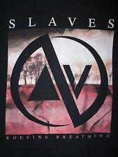 SLAVES ROUTINE BREATHING T SHIRT Jonny Craig Emarosa Dance Gavin Concert SMALL