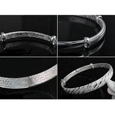 Fashion Girls' Jewelry Silver Color Unique Meteor Shower Bangle Bracelet D