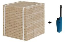 Holz & Wachs Kaminanzünder 2400 Stück Anzündwürfel Öko Grill Kohleanzünder