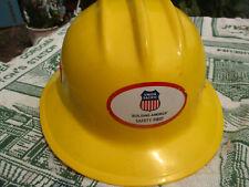 Ed Bullard Yellow Union Pacific Hard Hat 303 Full Brim W Liner Vintage1997
