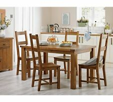 Collection Arizona Solid Pine Table & 4 Chairs Set - LIMITED STOCK