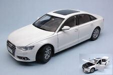 Audi A6 L 2012 White 1:18 Model PAUDI MODEL