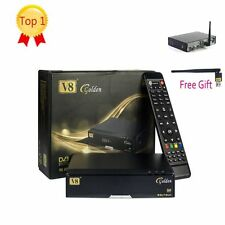 Freesat V8 Golden DVB S2/T2/C receptores de satélite TV Combo + wifi Dongle Usb