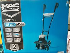 McAllister MTIP 1400-2 electric Rotavator