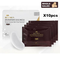 Wholesales 10Box 40pair REVIRES Micro point Eye Patch Hyaluronic Acid treatment