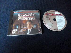 CD JOSE CARRERAS Ariel Ramirez Misa Criolla Navidad Philips West Germany
