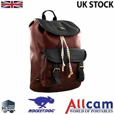 Rocket Dog Leatherette Casual Bluebell Backpack for woman in Burgundy, New