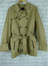 ASOS Trench coat Padded Sz L BNWT Cotton Beige Mens Ladies?
