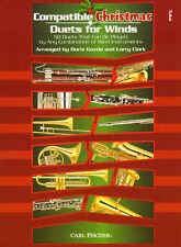 Compatible Christmas Duets for Winds Tuba Noten