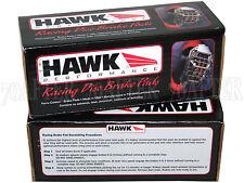 """Hawk Race HP Plus Brake Pads (Front & Rear Set) for 09-17 370Z Sport w/14"""" Rotor"""