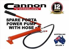 New 10 Ton Porta Power Pump and Hose only, crash repairs hot rod
