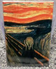 "Munch The Scream 2"" x 3"" Refrigerator Locker MAGNET"
