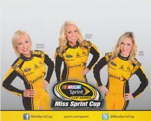 2013 Miss Sprint Cup NASCAR Sprint Cup postcard