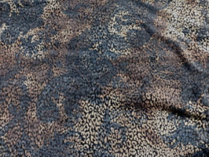 lambskin leather hide Designer EarthTones Baby Leopard Print Nubuck Texture 5sf