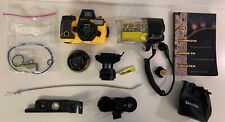 Sea And Sea Scuba Camera Gear Lot Lens And Grip Mount Underwater Photography