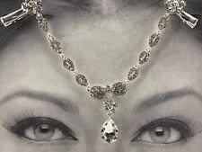 Droplet Forehead Ornament Fashion Jewellery Rhinestone