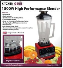 Kitchen Genie 1500W Commercial High Performance Heavy Duty Multi Blender/Smoothe
