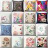 EG_ Flower Print Throw Pillow Case Sofa Bed Home Car Home Decor Cushion Cover Ch