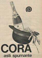 W8402 CORA Asti Spumante - Pubblicità 1963 - Advertising