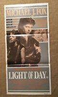 "Light Of Day 1987 Rare Australian Daybill movie poster 13"" x 27"" approx"