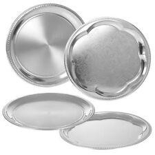 Vassoi rotonda in argento