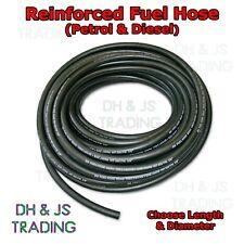 Reinforced Rubber / Nitrile Fuel Pipe - Petrol / Diesel Fuel Line Hose Pipe NBR