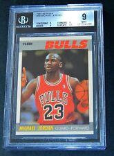 1987-88 NBA Fleer Michael Jordan #59 MINT 2nd Year  BGS 9  BULLS MINT