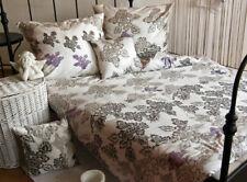 Mako Satin Bettwäsche 135 x 200 Natur Bettwaren Bettbezug Garnitur 2 tlg Set
