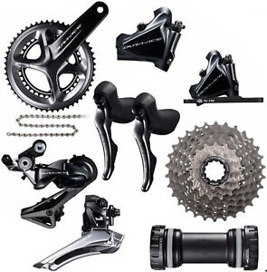 Shimano Dura-Ace R9120 2x11 Road Bike Groupset 52/36T 172.5 English Disc brake