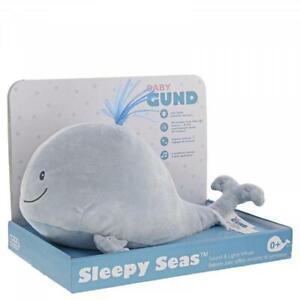 Sleepy Seas Sound & Lights Whale 30cm Great for Kids Night Light