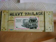 Corgi no. CC12007 heavy haulage man king trailer & reel load new mint