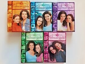 Gilmore Girls: The Complete Seasons 1-5 (DVD, 2005, 30-Disc Set)