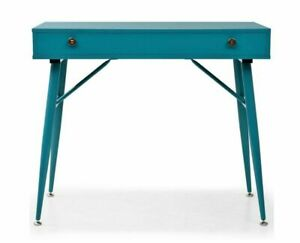 New Writing Desk Retro Industrial Furniture Computer Laptop Console Table