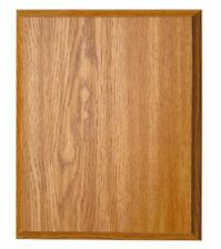 "Oak Finish Blank Wood Plaque 8"" x 10"" FREE SHIPPING OKP810(B28)"