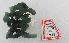 Pin Love New with Tag Vintage Asian Ancient Chinese Character