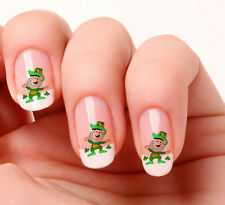 20 Nail Art Adesivi Trasferimenti Decalcomanie #552 Saint Patricks Day stacca e