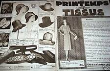 "CATALOGUE "" AU PRINTEMPS "" 1924"