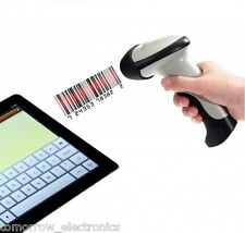 Portable Wireless Bluetooth Barcode Scanner F Apple iOS Android Win7 8 Tablet PC