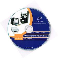RIMAGE Impresora Térmica Cd/dvd diseñador Software Suite V 8.2.8.0